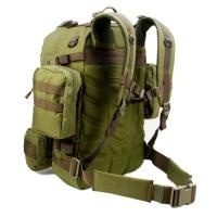 China Heavy Duty Army Camo Backpack , Army 3 Day Assault Pack With Shoulders on sale