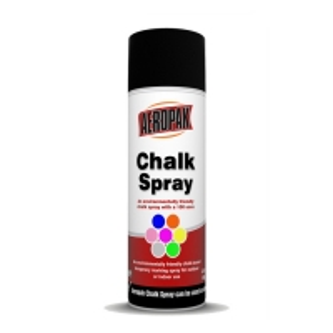 Best 122F 200ml Aeropak Washable Chalk Spray Temporary Marking MSDS wholesale