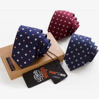 Best New beautiful Hight quality custom woven polyester necktie wholesale
