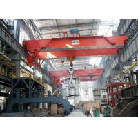 Buy cheap 500T Casting Electric Double Girder Overhead Crane , Industrial Heavy Duty from wholesalers