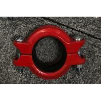 Best High Pressure Hose Clamps Spheroidal Graphite Cast Iron Red or Blue plating Surface finish wholesale