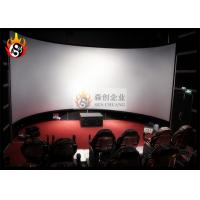Best Good Experience 3D Cinema Systems with Large Arc Silver Screen wholesale