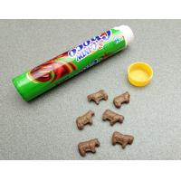 Cheap Cute Cow Shape Chocolate Flavored Hard Candy Sweet Eco-Friendly for sale
