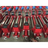 Best Bolt Adjustment Self Aligning Rotator 20 Ton Conventional , Coated With Rubber Wheels wholesale