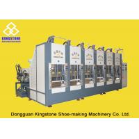 Vertical Shoe Sole Mould Making Machine , Eva Sole Making Machine CE SGS