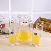 Best Longwei Family Water Jug And Glass Set , Glass Juice Jug With Lid 1300 ML wholesale