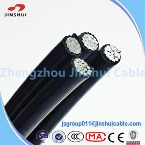 Best Quadruplex Wire Service Drop Cable XLPE Insulated ACSR Conductor wholesale