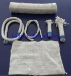 Best Boiler Insulation Ceramic Fiber Refractory Textiles Oil / Water Vapor Resistent wholesale