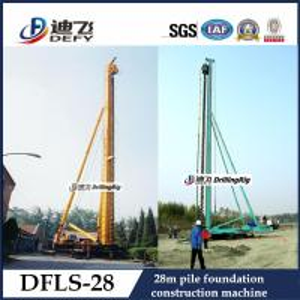 Best 28m Depth DFLS-28 Hydraulic Rotary Construction machinery Piling machine Pile Driver wholesale