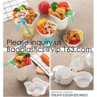 300ml Snack Tray PP Injeciton Trays For 95mm And 95mm Diameter Cups Disposable