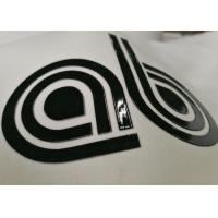 Personalized Heat Press Clothing Labels , Heat Transfer Shirt Labels Any Color Avaliable