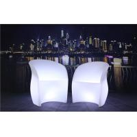 Best 3 Pcs Color Charging LED Glow Furniture AC 100-240V Input LED Tables And Chairs wholesale