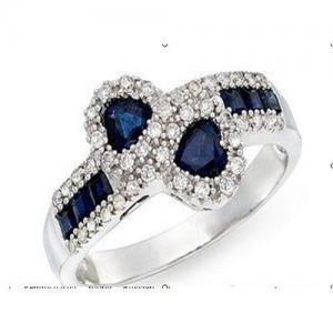 Best Diamond & sapphire ring wholesale