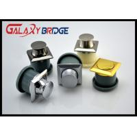 Buy cheap Zinc Round Concealed Cabinet Handles Spring Skip Bottom Pulls Gold Bounced Bottom Knob from wholesalers