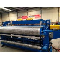 Best High Efficiency Full Automatic Galvanized Wire Welded Roll Mesh Welding Machine wholesale