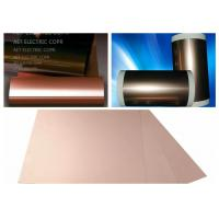 Best ROHS Single Side FCCL Copper Clad Laminate with 0.5 ~ 2.0mils thickness PI Film Mil Modified Epoxy Adhesive wholesale