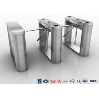 Cheap Bi - Directional Tripod Turnstile Gate , Security Half Height Turnstile access system for sale