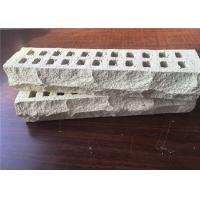 Best Special Mountain Shape White Perforated Clay Bricks High Strength For Long Life wholesale