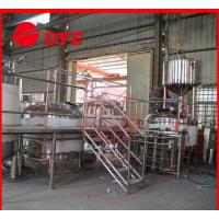 Best 5BBL Manual Industrial Beer Brewing Equipment Anti-aging For Restaurant wholesale