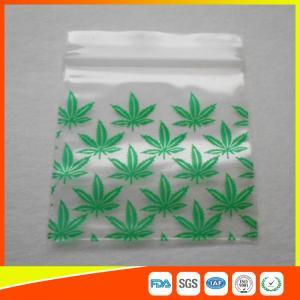 Best Reclosable Custom Printed Ziplock Bags / Plastic Packing Bag With Zipper wholesale
