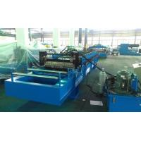 Best High Speed 0 - 25m / min Corrugated Roll Forming Machine Fly Cutting No Stop wholesale
