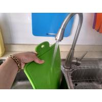 Best Easy Washing Safe Use Food Grade Silicone Cutting Board Of Blue and Green wholesale