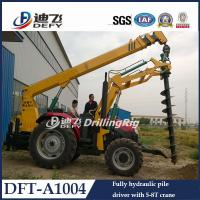 Best Professional hydraulic spiral drilling machine DFT-A1004 pile driver wholesale