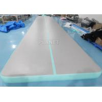 Best 33ft Cheerleading Inflatable Tumbling Air Mats For Gymnastics wholesale