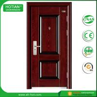 Best Competitive Luxury Steel Door China Low Prices Modern Industrial Security Steel Door with Galvanized Handle wholesale