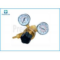 China Female 0.96''-14 Argon Gas Welding Regulator 2 Gauge Single Stage on sale