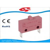 Best 10A 5A 250V AC Electrical Micro Switches , Push Button Electric Switch SPST Type wholesale