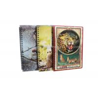 Best Stationery Diary A4 Size Notebooks 3D Lenticular Cover Of Famous Views wholesale