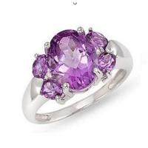 Best Amethyst diamond ring wholesale
