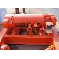 Best Double Rail Electric Wire Rope Hoist With Hoist Trolley For Lifting Cargo Anti Explosion wholesale