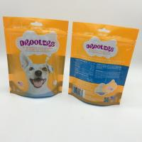 Best Sealable Stand Up Pet Food Bag Packaging For Dog Treats PET / PE Material wholesale