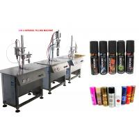 Quality Pepper Spray / Nasal Spray Filling Machine With Pneumatic Power Type wholesale