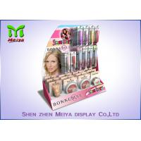 Best girl's make up counter cardboard display rack wholesale
