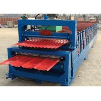 Best 5.5KW High Speed Roof Panel Roll Forming Machine With High Precision In Cutting wholesale