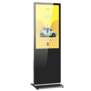 Best 8ms 1500/1 Airport Floor Stand Digital Signage 50000hrs Support MP4 wholesale