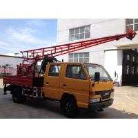 Buy cheap CG-150 Hydraulic Truck Mounted Drilling Rigs With core and water well from wholesalers