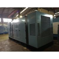 Best 230 / 400V Soundproof Diesel Generator ,Water - Cooling System Diesel Electric Generator wholesale