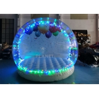 Best 3 Meter Dia Inflatable Snow Globe Photo Booth With Blowing wholesale