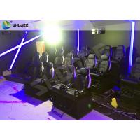Best Wonderful 12 Special Effects Mobile 7D Cinema Theater / 7D Interactive Motion Theater wholesale
