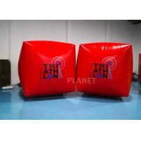 Best 1.5M Cube Race Marker Inflatable Water Buoys For Water Sports Event wholesale