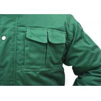 Best Durable Mens Lightweight Work Jackets / Warm Mens Farmer Overalls wholesale
