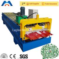 Quality Trapezoidal Profile Roll Forming Machine With PLC Control System wholesale