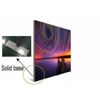 Best Customized Double Sided Fabric LED Light Box Mitred Corner For Door Advertising wholesale