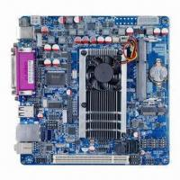 Best Mini-ITX Industrial Motherboard, On-board 1.86GHz Intel Atom D2700 CPU w/ 6 COM Ports, Supports LVDS wholesale