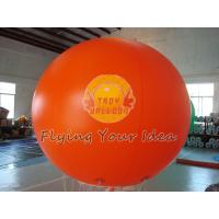Best Huge Orange Color Waterproof Inflatable Round Balloons for Outdoor Advertising wholesale