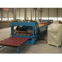 Best Full Automatic Control Villa Metal Roof Glazed Tile Roll Forming Machine Color Steel Glazed Tile Cold Forming Machine wholesale